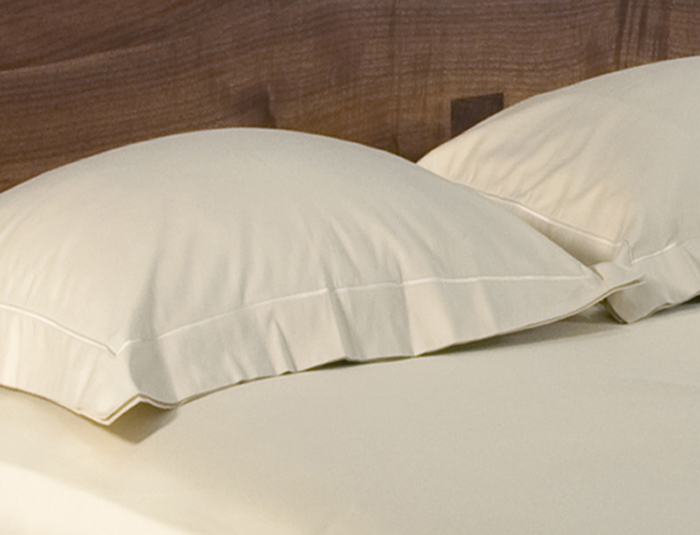 LOOP Organic Sateen Sandstone Duvet Cover and Shams