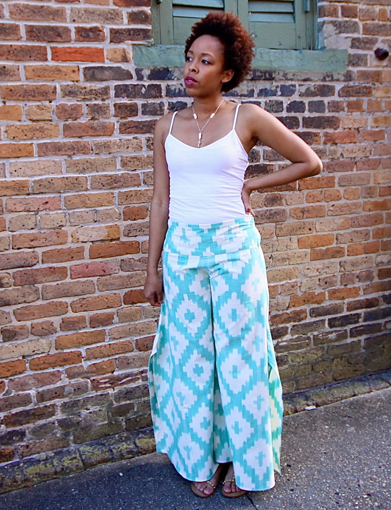 Spinnaker Mint Pants
