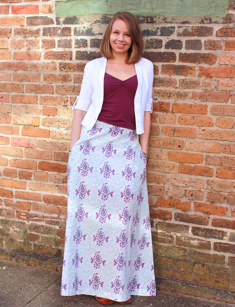 Wildflower Maxi Skirt
