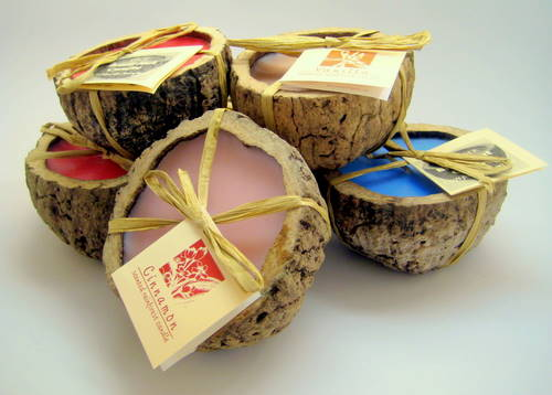 Eco Friendly Brazil Nut Candles Fair Trade Gifts Seven