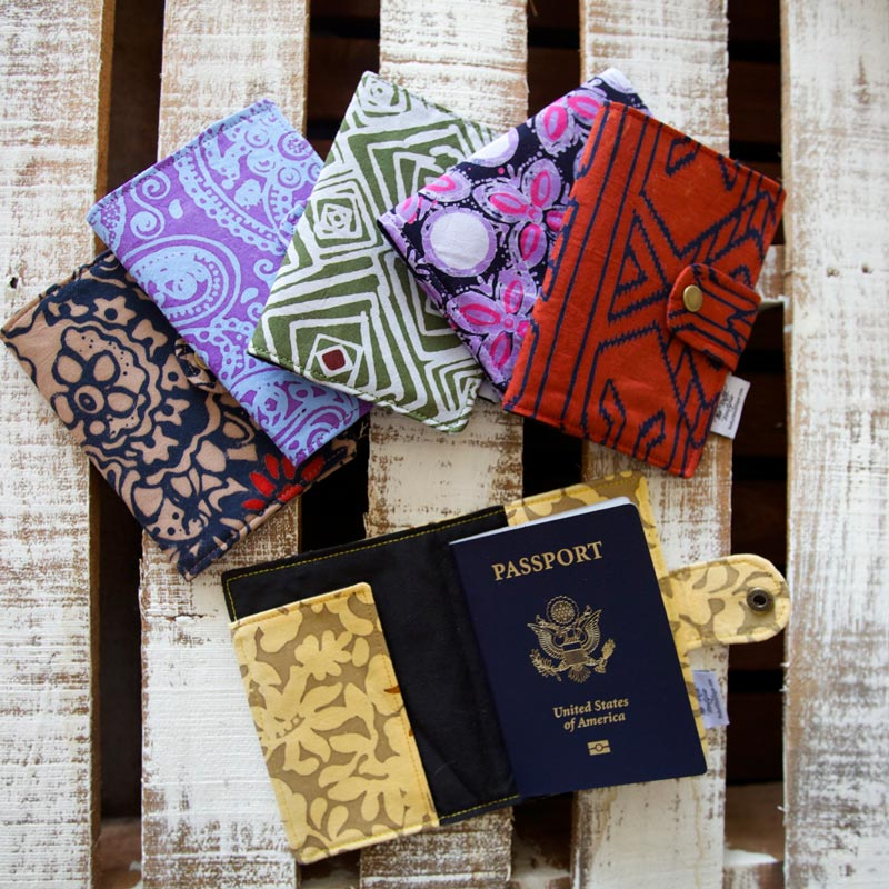 Batik Passport Holders