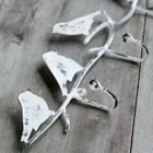 Distressed Bird Hooks
