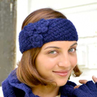 Bouquet Knitted Headband