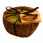 Eco Friendly Brazil Nut Candles