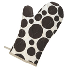 Brown Dots Oven Mitt