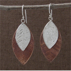Cascading Leaf Earrings