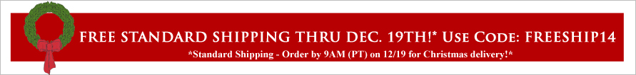 Free Shipping Christmas Banner