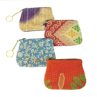 Recycled Kantha Coin Purse