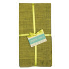 Cotton Olive Napkins (Set of 4)