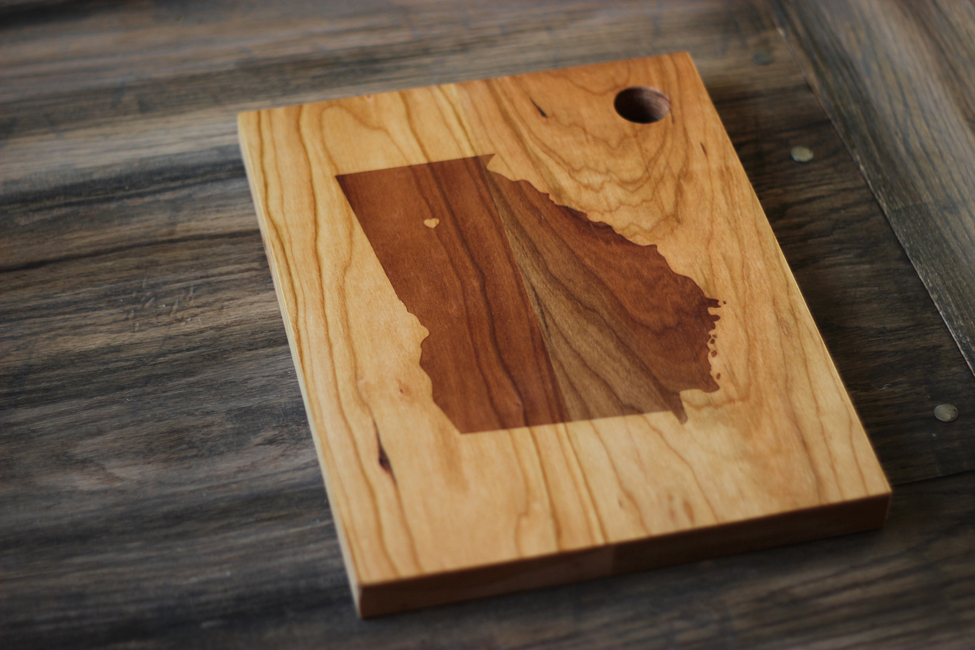 custom city state wooden cutting board [rcstate]  .  fair,