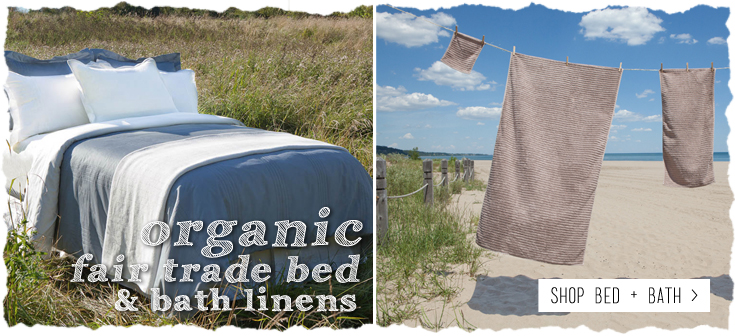 Fair Trade Bed and Bath Linens