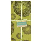Green Seaflower Print Napkins (Set of 4) - As Seen In BH&G