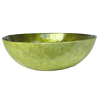 Large Capiz Bowl Olive