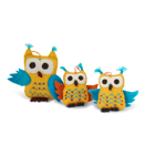 Night Owl Ornament - Mini Blue