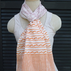 Paisley and Stripe Scarf