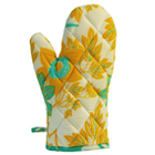 Passion Flower Oven Mitt
