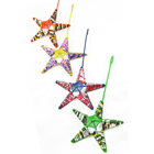Recycled Soda Can Star Ornament