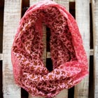 Raspberry Bliss Infinity Scarf