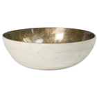 Large Capiz Bowl - Silver Lining