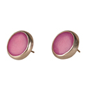 Sofia Tagua Earrings - Berry