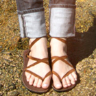 Brown Sseko Sandal Straps
