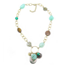 Ajuna Necklace - Teal