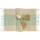 Turquoise Blue Vetiver Placemats (Set of 6)