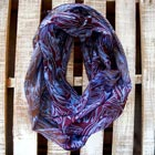 Winter Sky Infinity Scarf