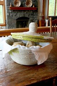 Wolof African Bread Basket
