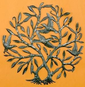 Handmade Metal Tree of Life