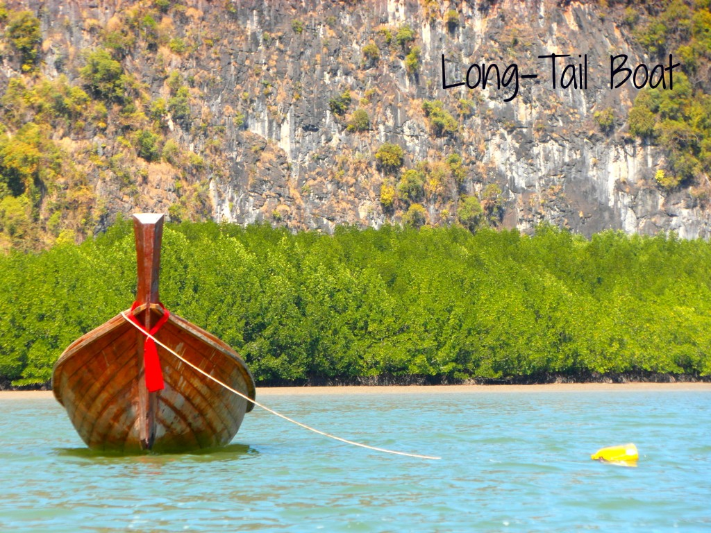 Long Tail Boat for 7 Hopes