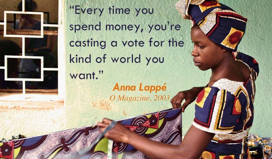 Anne Lappe Quote