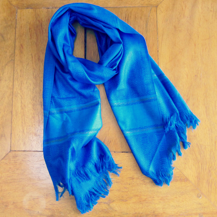 royal-blue-cotton-scarf