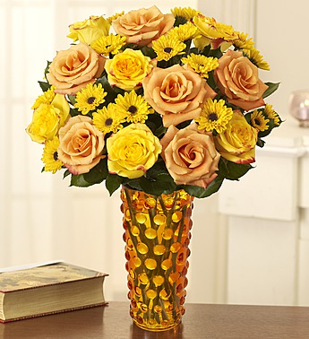 800flowers yellow roses