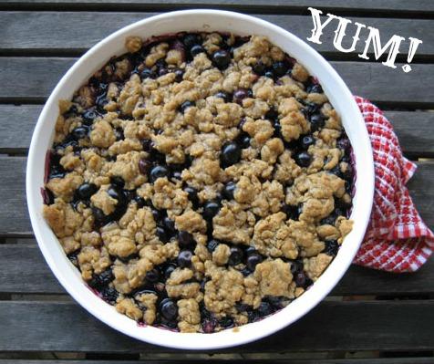 YUM!blueberrycrisp