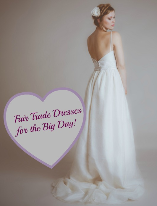 fair trade wedding dress