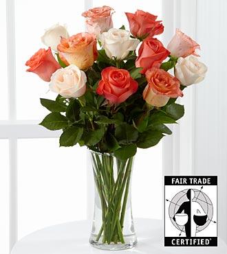 ftd orange roses