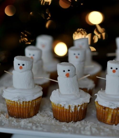 christma cupcakes