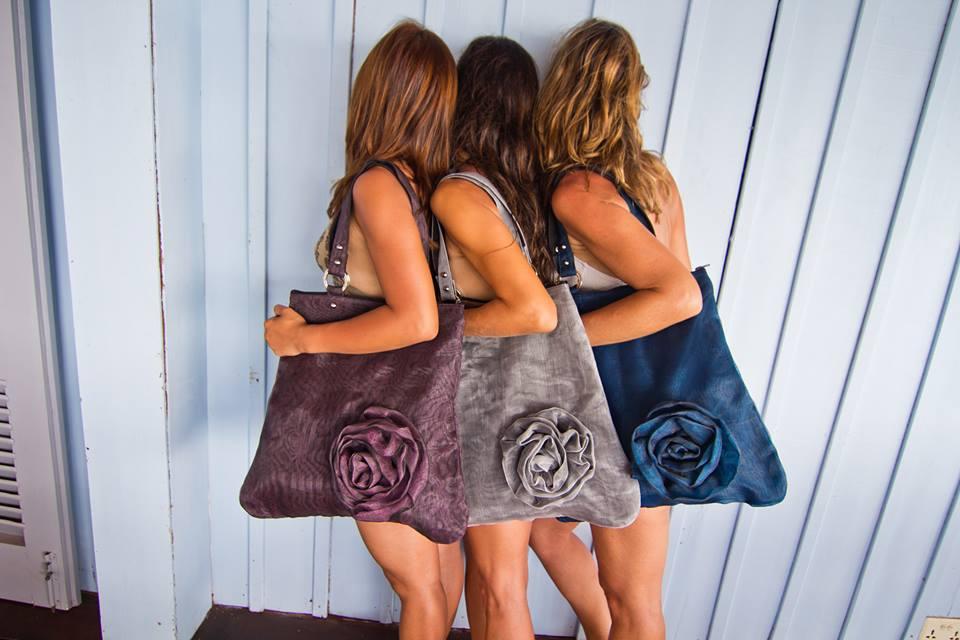 Oversized Flower Shoulder Bag