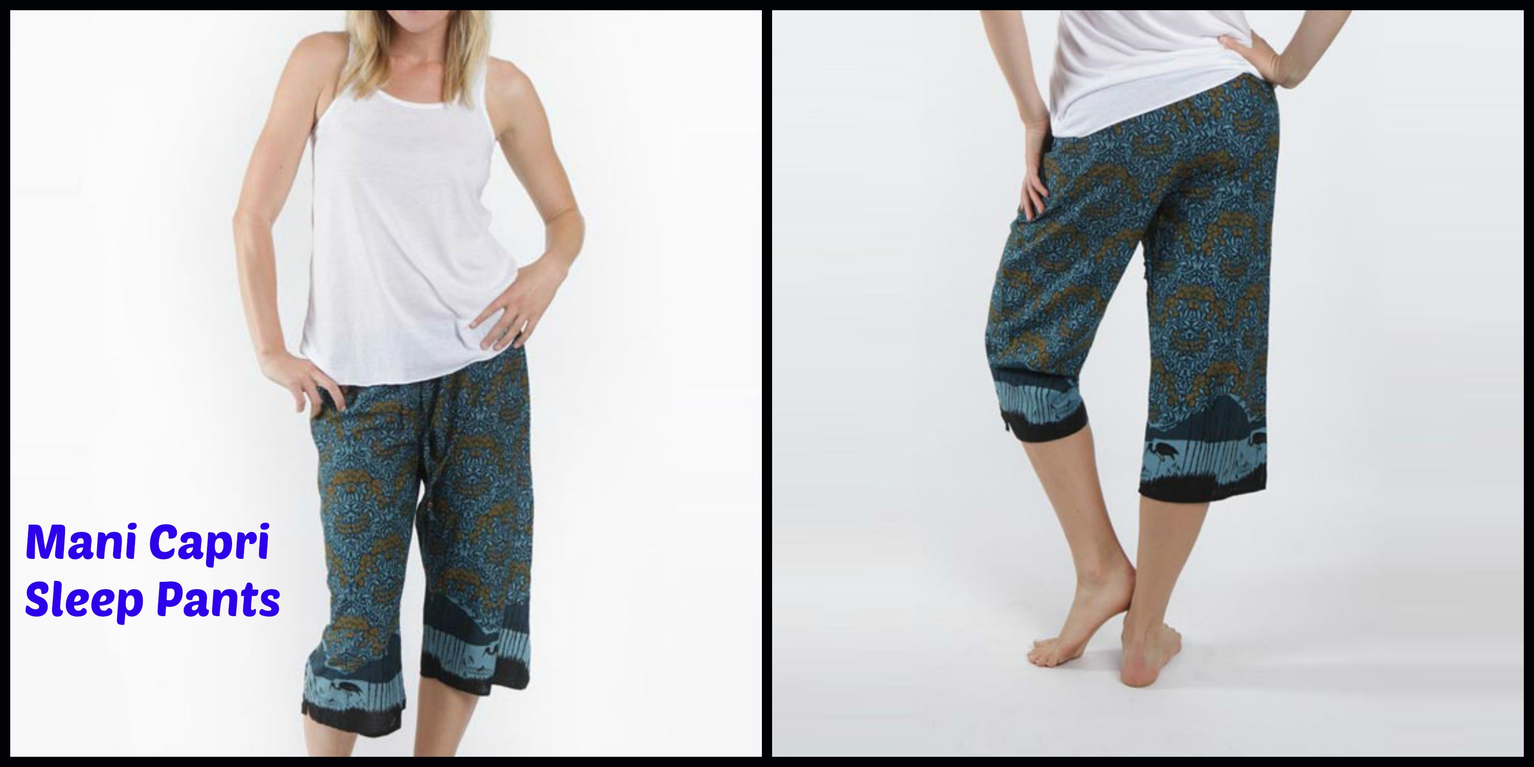 Mani Capri Sleep Pants