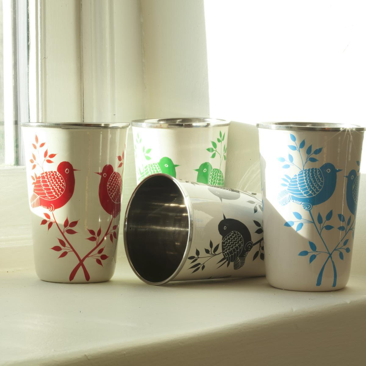 Eva Hand Painted Cups